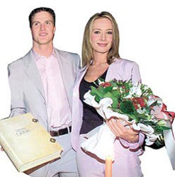 гражданская регистрация брака Ральфа и Коры